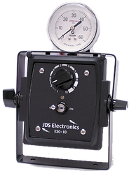 speed controller with gauge