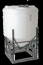 200 gallon flat top cone bottom tank