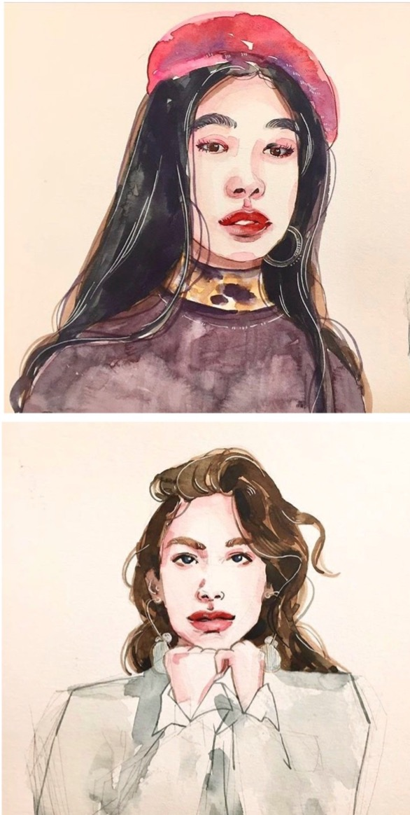 portraits.2019.watercolor
