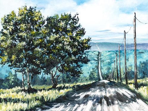 Original - Green Tree Study 3