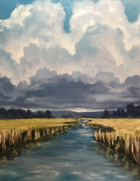 the clouds of the marsh
