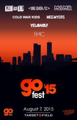 Go Fest '15 Poster