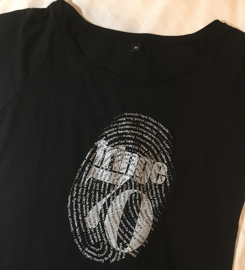 フリンジ70回目の記念Tシャツ