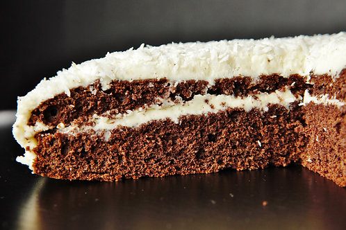 Rum Chocolate and Coconut cake