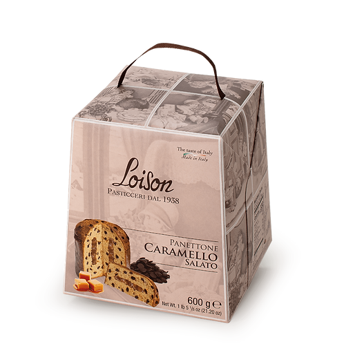 Loison Panettone with salted caramel 600gr