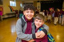 Friends at School