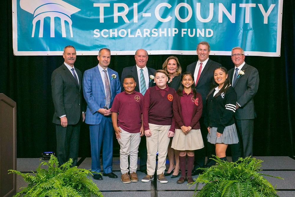 Tri-County Annual Awards Dinner Honorees, Committee, and students