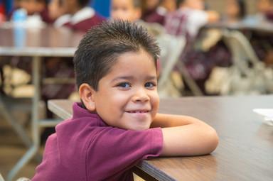 Tri-County Scholarship grade school boy