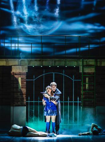 Rebecca Wickes (Veronica) & Simon Gordon (JD) - Heathers UK Tour 2021 - Photos by Pamela R