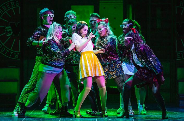 Lizzy Parker (Heather Mcnamara) & the cast of Heathers The Musical - UK Tour 2021 - Photos