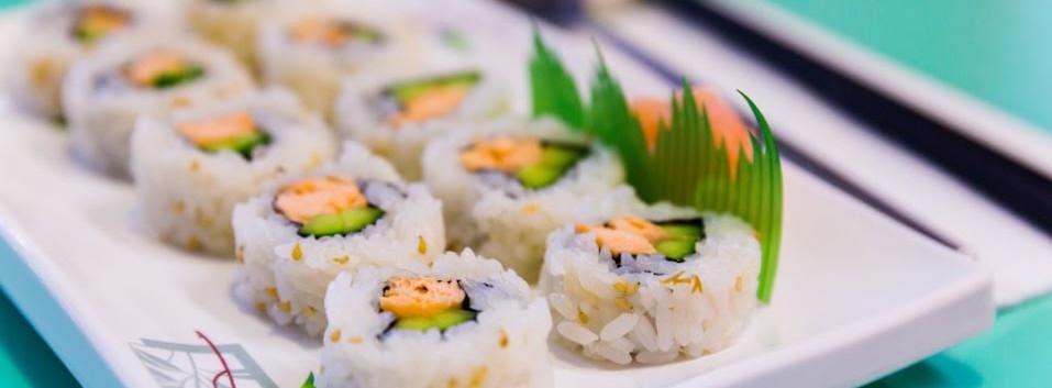 Salmon Kim Bap