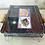 Thumbnail: Brasero de mesa asas de madera