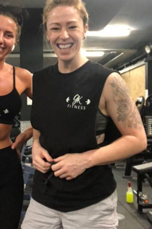 GK Fitness Branded Unisex Drop Arm Vest