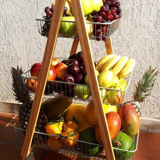 Carrinho Gourmet Frutas na Mesa