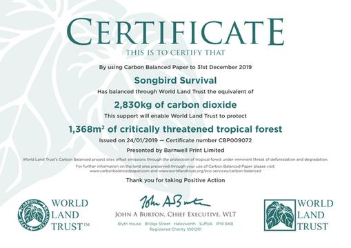 05/02/20 – SBS Saving more trees!