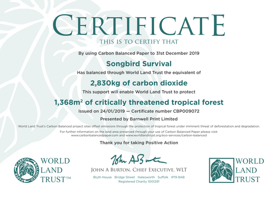 05/02/20 – SBS Saving more trees!