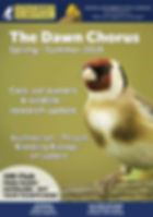 SBS Dawn Chorus Magazine Summer 2019 COV