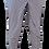 "Thumbnail: JC Maternity Pants ""Stripy Jo's"" Navy and White"