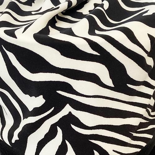 JC Face Mask Zebra