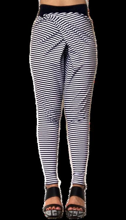"JC Pants ""Stripy Jo's"" Navy and White Stripe"