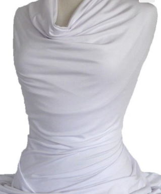 JC Butterfly Top Bamboo Lycra White