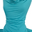 Thumbnail: JC Butterfly Dress Bamboo Lycra Turquoise