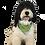 "Thumbnail: JC Reversible Dog Bandana ""Rainbow Kiwis"""