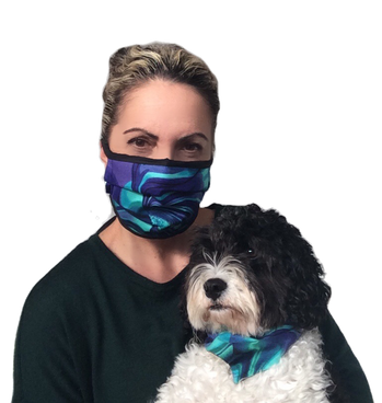 Jo and Daisy Pacific Jewel Face Mask and