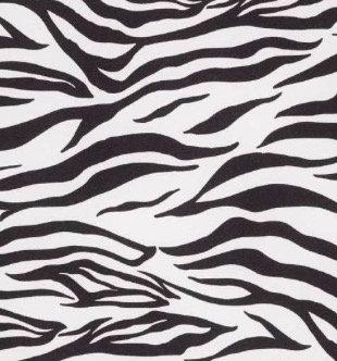 """JC Reversible Dog Bandana """"Zebra"""""""
