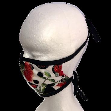 JC Face Mask Pohutukawa Dots