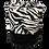 """Thumbnail: Scrub Cap Zebra """"Angee"""" Print/Black or White"""