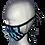 Thumbnail: JC Face Mask Aqua/Black and Blue