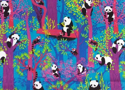 JC Face Mask Forest Pandas