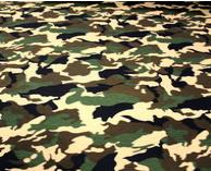 "JC Reversible Dog Bandana ""Army Camo"""