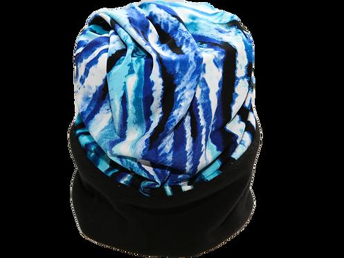Convertible Headband Aqua, Blue, Black, White