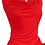 Thumbnail: JC Butterfly Top Bamboo Lycra Red