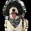 "Thumbnail: JC Reversible Dog Bandana ""Jandals"""