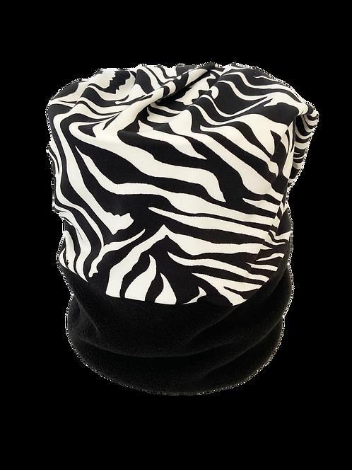 "Convertible Headband Zebra ""Ang"""