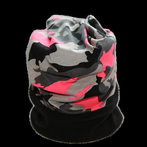 Convertible Headband Pink Camo