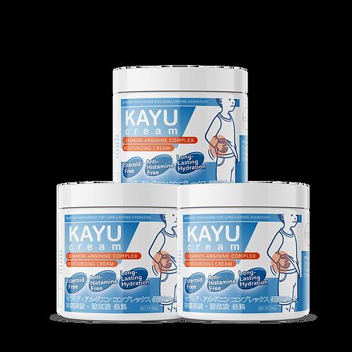KAYU cream x3 set