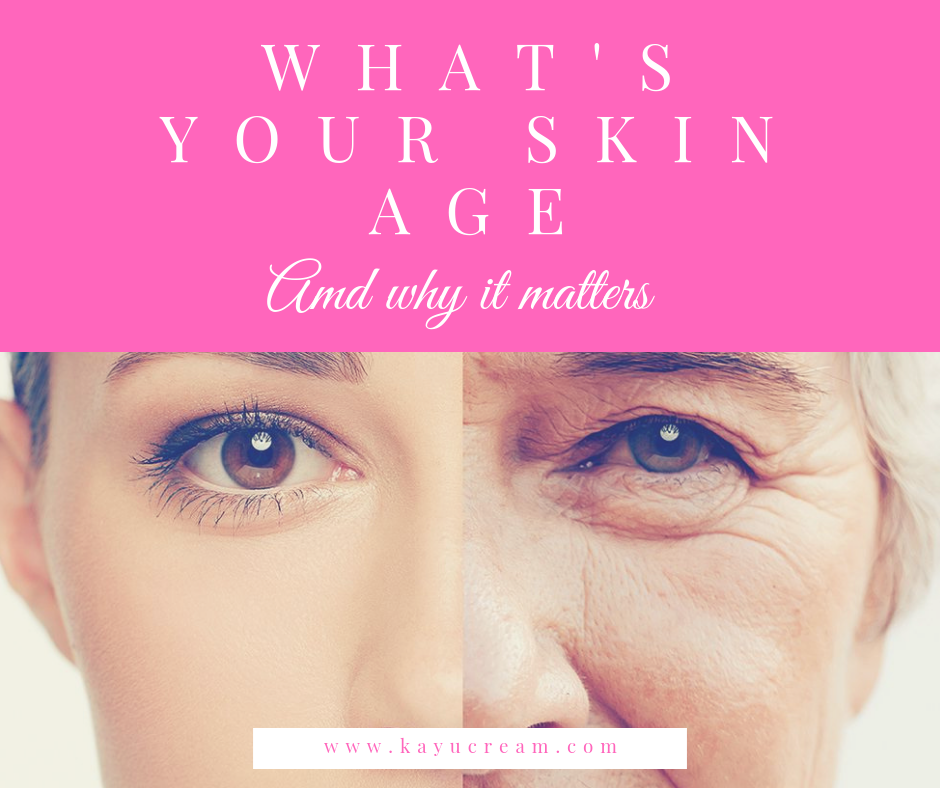 What's your skin age and why it matters