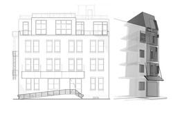 North Elevation & West Facade