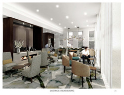 Interior Guest Lounge Rendering