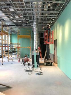 Lounge under construction 2017