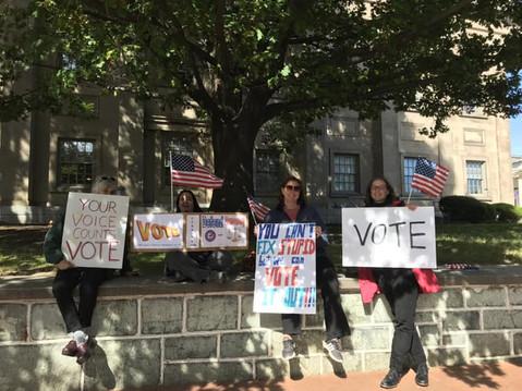 Vote! It's your superpower!