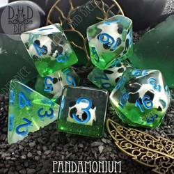 Pandamonium Dice Set