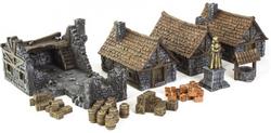 Décors Medieval Town