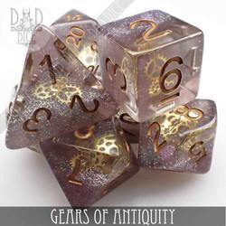 Gears of Antiquity Dice Set
