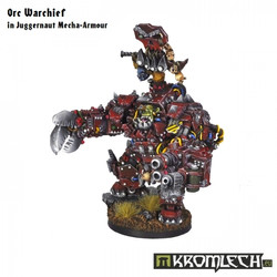 Orc Warchief in Juggernaut Mecha