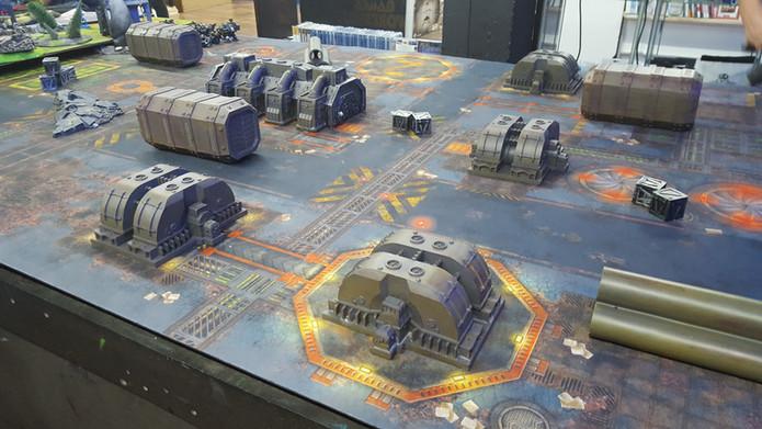 Table de jeu Warhammer 40k